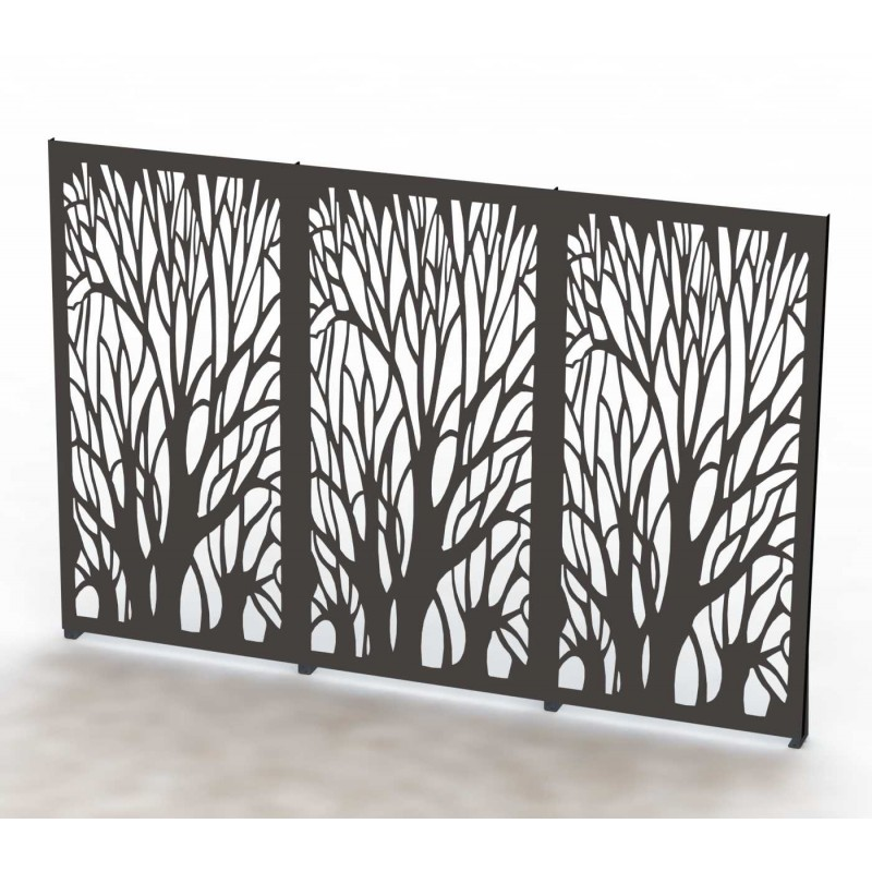 brise vue arbre. Black Bedroom Furniture Sets. Home Design Ideas